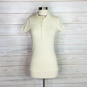 Ralph Lauren Size S cream polo shirt